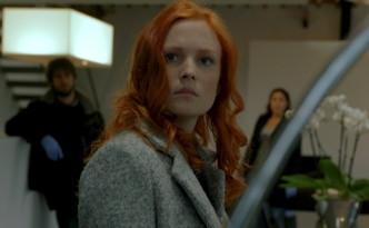 Clara Cleymans als Helena De Ridder in misdaad-serie De Ridder