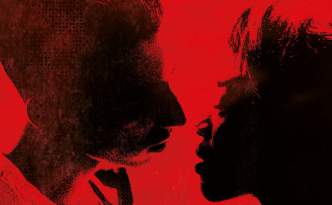 Martha Canga Antonio en Aboubakr Bensaïhi in Black