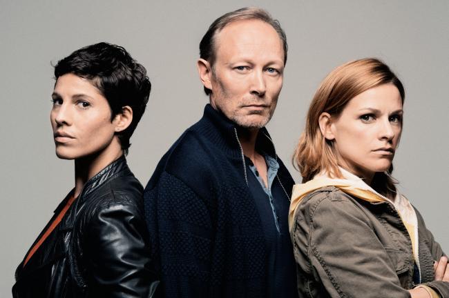 Internationale cast tv-serie The Team met Veerle Baetens, Lars Mikkelsen en Jasmin Gerat