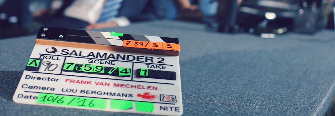 Tweede seizoen Salamander in 2018 op de buis