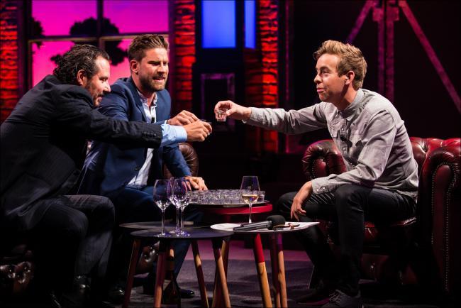 Kevin Janssens en Axel Daeseleire bij Jonas Van Geel