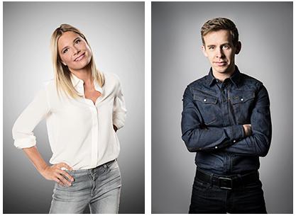Nathalie Meskens en Jonas Van Geel in Geluk is…