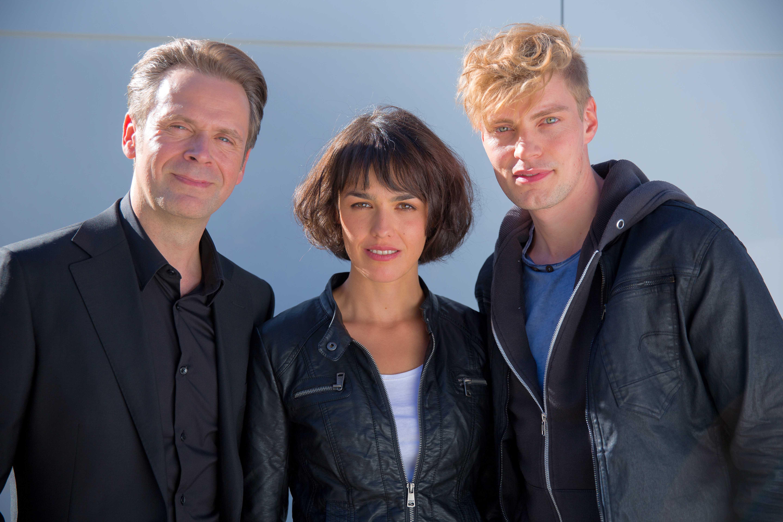 Succes Professor T. in buitenland; Duitse cast.