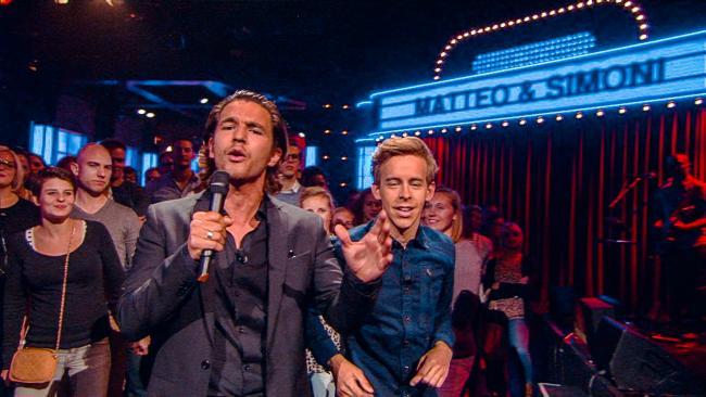 Jonas & Van Geel wordt Matteo & Simoni